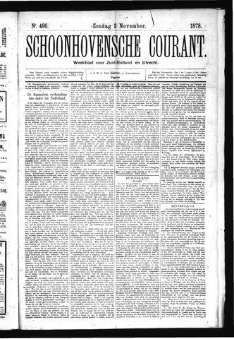 Schoonhovensche Courant 1878-11-03