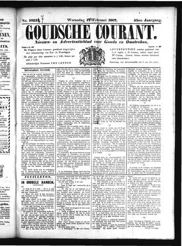Goudsche Courant 1907-02-13
