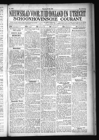 Schoonhovensche Courant 1929-05-27