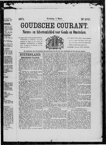 Goudsche Courant 1871-03-01