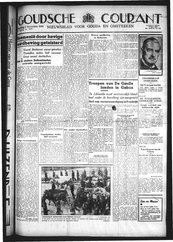 Goudsche Courant 1940-11-11