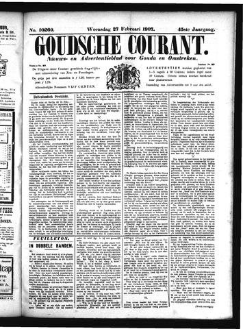 Goudsche Courant 1907-02-27