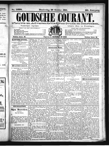Goudsche Courant 1911-10-26