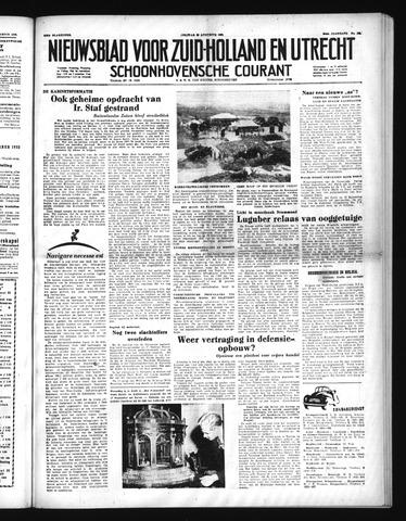 Schoonhovensche Courant 1952-08-29
