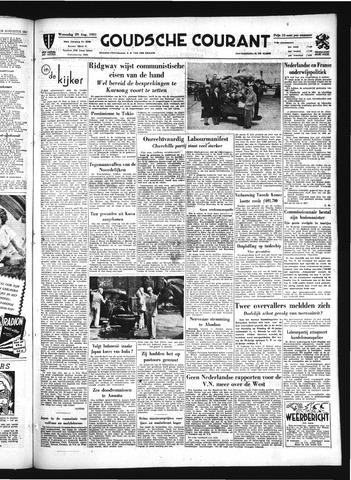 Goudsche Courant 1951-08-29