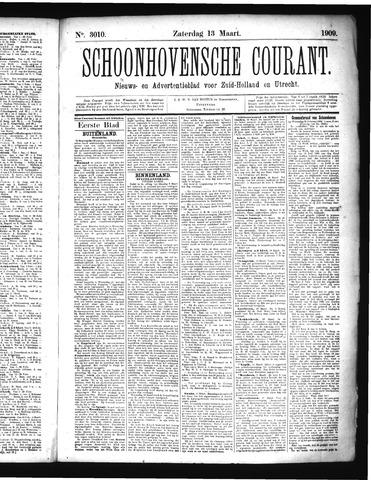 Schoonhovensche Courant 1909-03-13