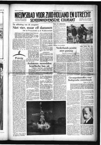 Schoonhovensche Courant 1954-03-19