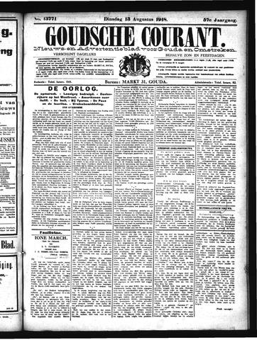 Goudsche Courant 1918-08-13