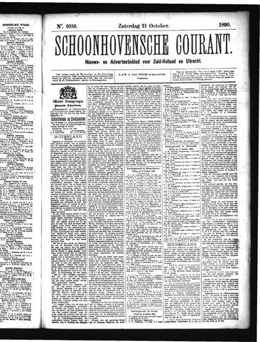 Schoonhovensche Courant 1899-10-21