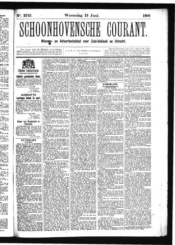 Schoonhovensche Courant 1906-06-13