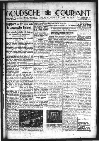 Goudsche Courant 1942-02-12