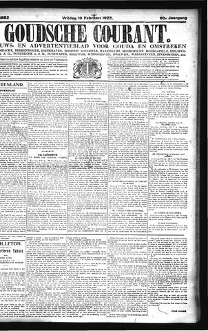 Goudsche Courant 1922-02-10