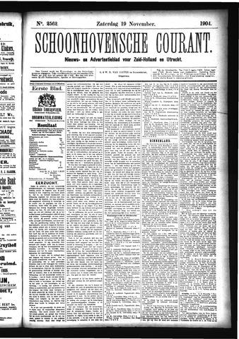 Schoonhovensche Courant 1904-11-19