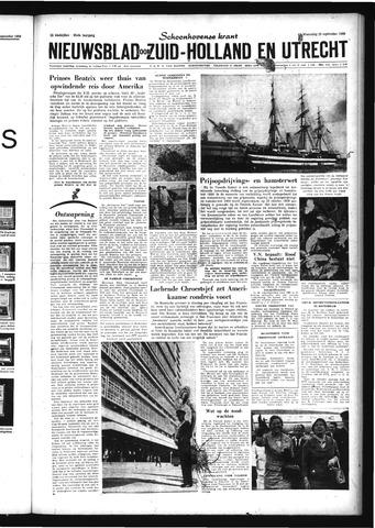 Schoonhovensche Courant 1959-09-23