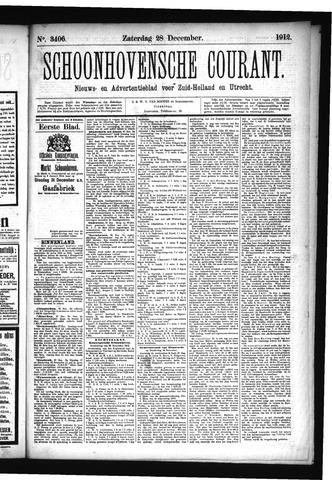 Schoonhovensche Courant 1912-12-28