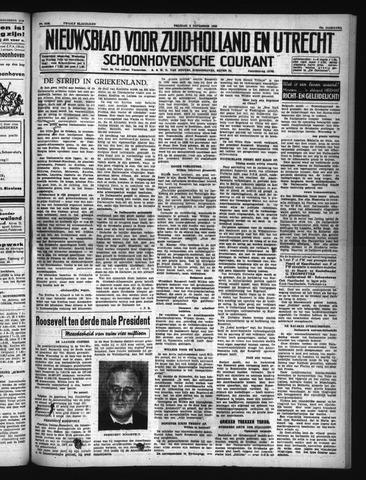 Schoonhovensche Courant 1940-11-08