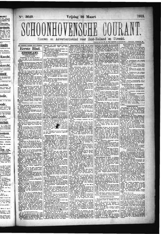 Schoonhovensche Courant 1915-03-26