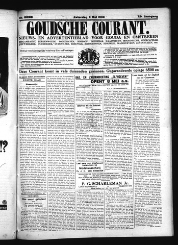 Goudsche Courant 1933-05-06