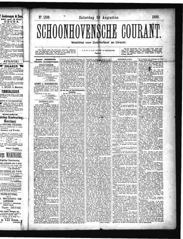 Schoonhovensche Courant 1890-08-23