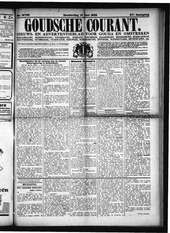 Goudsche Courant 1928-06-14