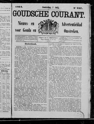Goudsche Courant 1864-07-07