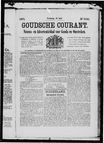 Goudsche Courant 1871-04-26