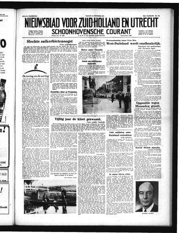 Schoonhovensche Courant 1951-09-14
