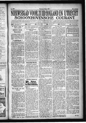 Schoonhovensche Courant 1929-03-11