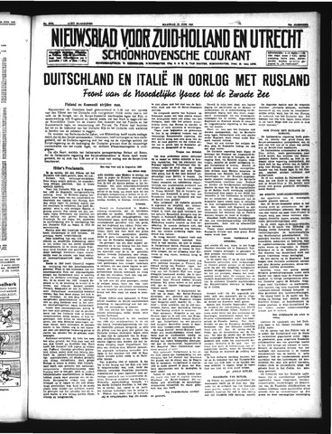 Schoonhovensche Courant 1941-06-23