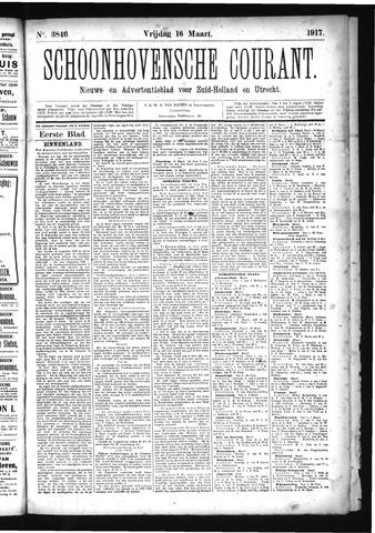 Schoonhovensche Courant 1917-03-16
