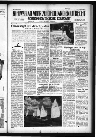 Schoonhovensche Courant 1958-07-25