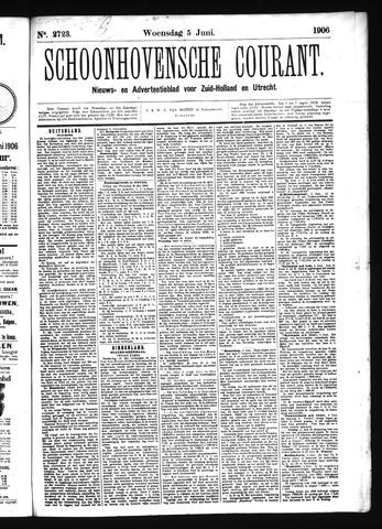 Schoonhovensche Courant 1906-06-05