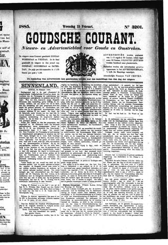 Goudsche Courant 1885-02-25