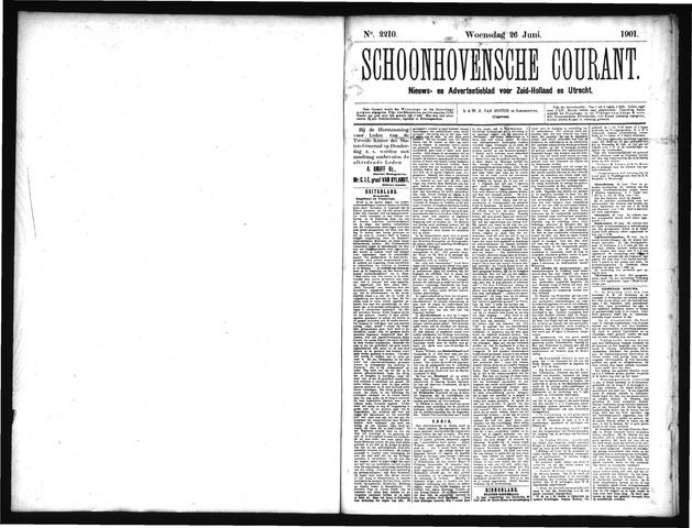 Schoonhovensche Courant 1901-06-26