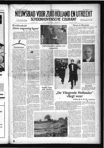 Schoonhovensche Courant 1958-03-21