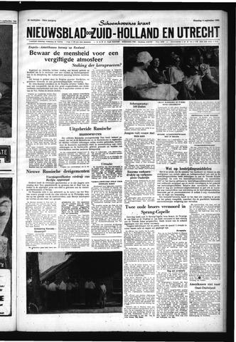 Schoonhovensche Courant 1961-09-04