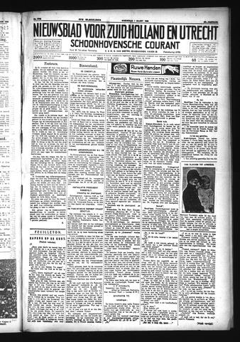 Schoonhovensche Courant 1933-03-01
