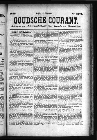 Goudsche Courant 1886-11-19
