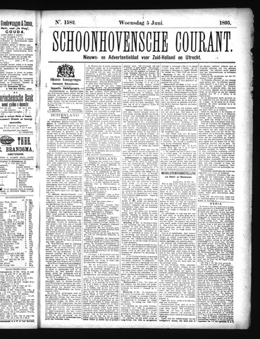 Schoonhovensche Courant 1895-06-05