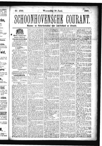 Schoonhovensche Courant 1897-06-16
