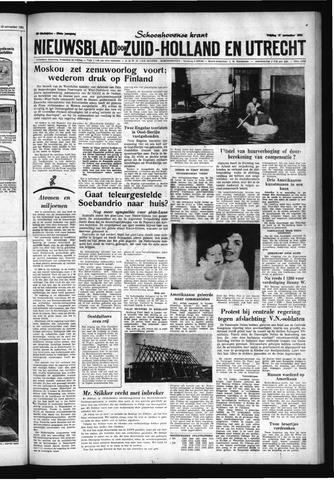 Schoonhovensche Courant 1961-11-17