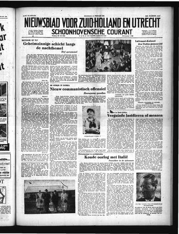 Schoonhovensche Courant 1951-02-14