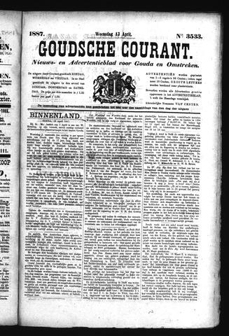 Goudsche Courant 1887-04-13