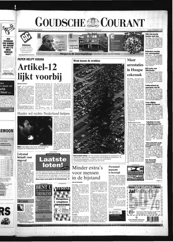 Goudsche Courant 2000-02-18