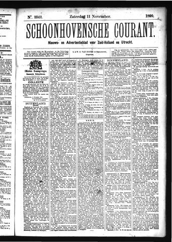 Schoonhovensche Courant 1899-11-11