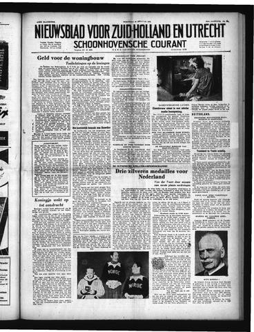 Schoonhovensche Courant 1952-02-20