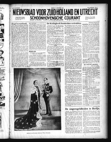 Schoonhovensche Courant 1948-09-10