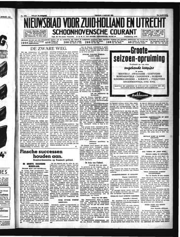 Schoonhovensche Courant 1940-01-05