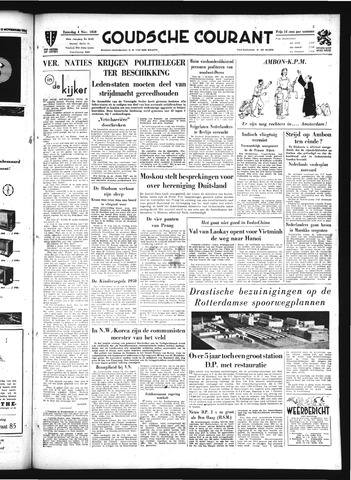 Goudsche Courant 1950-11-04
