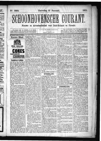 Schoonhovensche Courant 1911-01-21